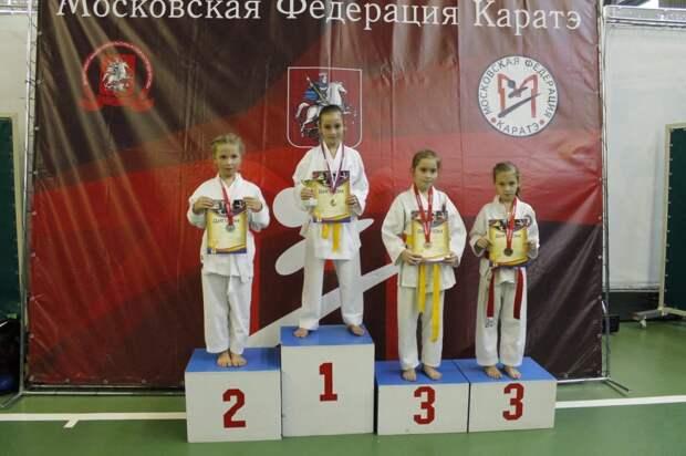 «Надежды Москвы»: юные каратисты из Алтуфьева привезли награды с городских соревнований