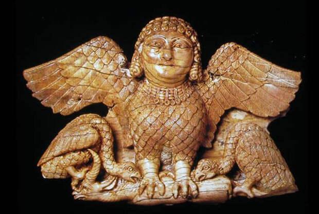 Гарпия- 8 в до н.э. Нимруд
