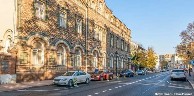 Собянин осмотрел итоги реставрации здания посольства Бразилии в Москве