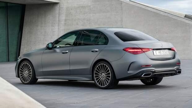 Mercedes-Benz представил новый C-Класс 2022, который очень похож на S-Класс