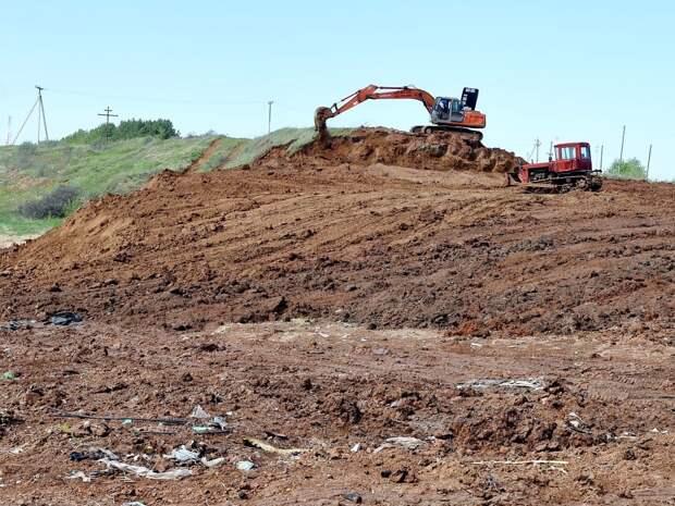 Свалку площадью 3,5 гектара рекультивируют в Малопургинском районе Удмуртии