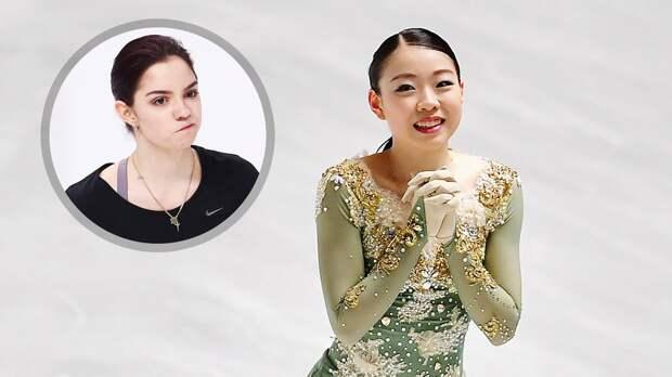 Японка Кихира будет тренироваться вместе сМедведевой. Естьли унее шансы против учениц Тутберидзе?