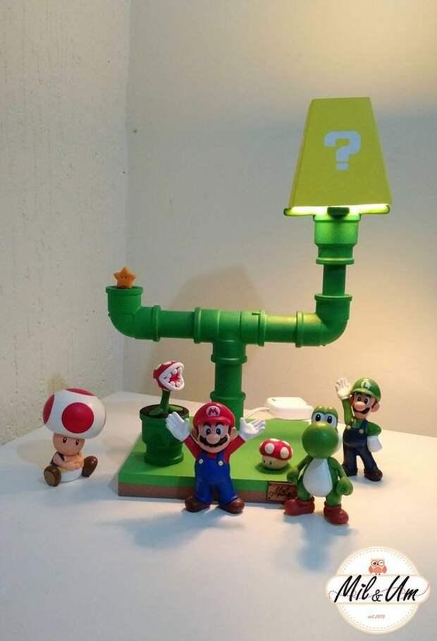Светильники имени Марио