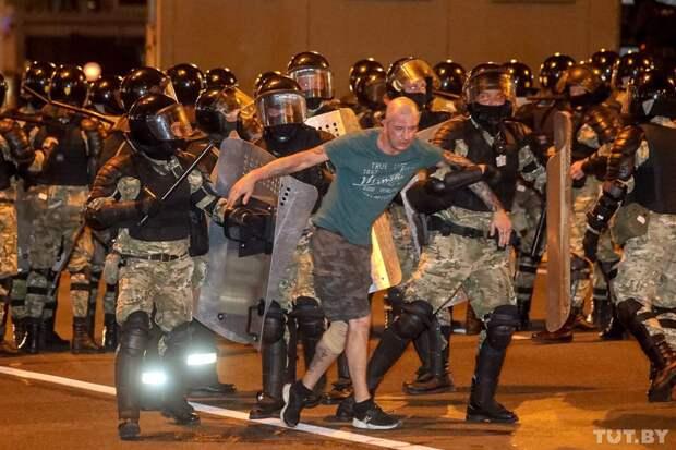 Протесты в Минске. 10.08.2020. Ночь