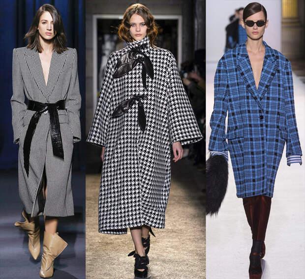 Модные пальто 2018-2019 года