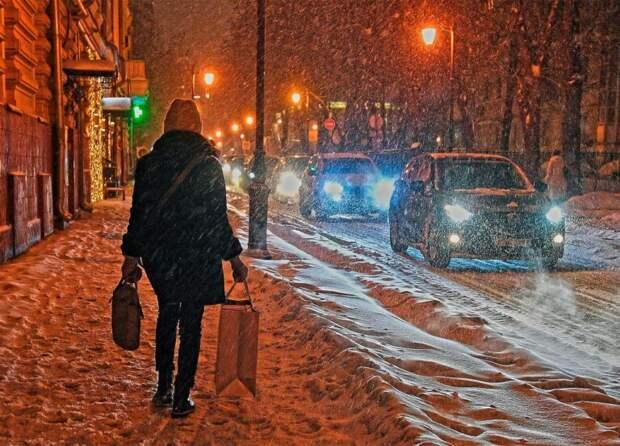 Москвичей предупредили о метели