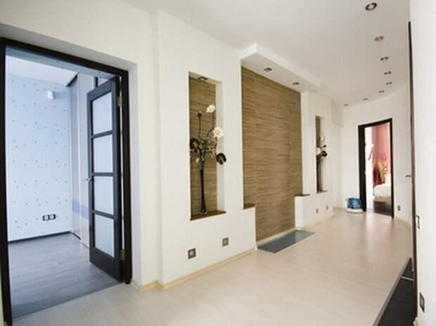 бамбук в интерьере коридора