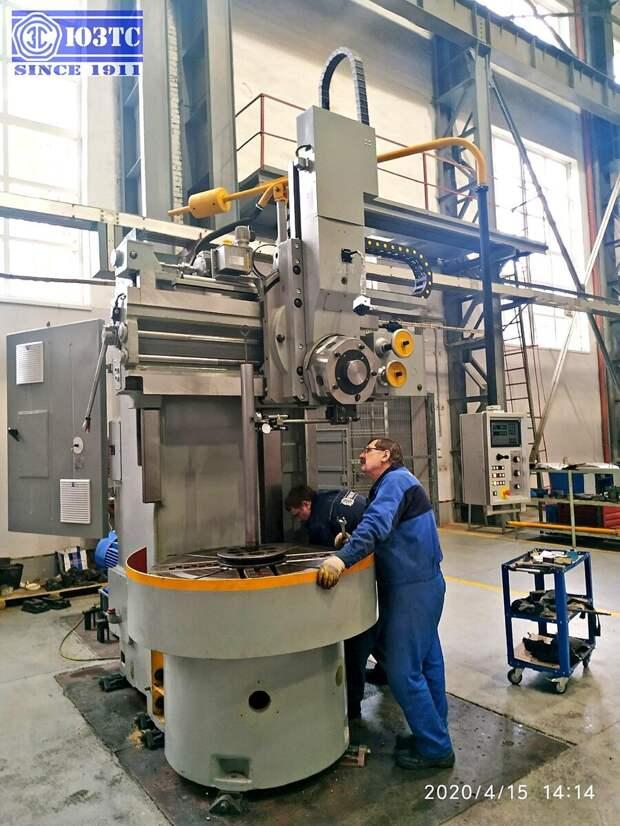 Как в России возрождают производство огромных станков