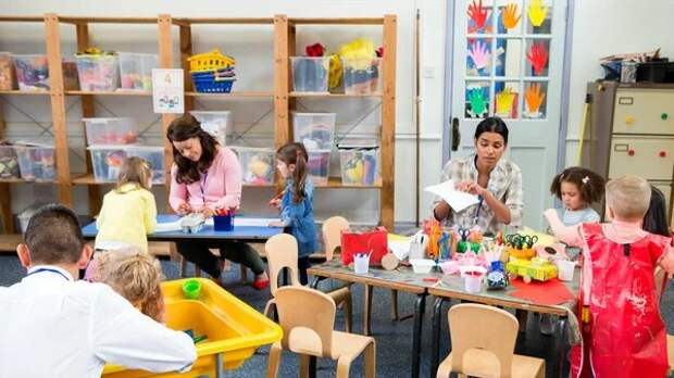 Что удивило американцев в наших детских садах?