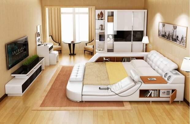 Утренняя радость: многофункциональная кровать, которую не хочется покидать