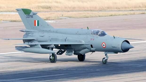Легкий истребитель третьего поколения МиГ-21 ВВС Индии