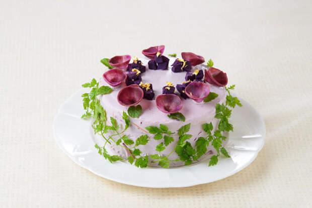 Салатные торты