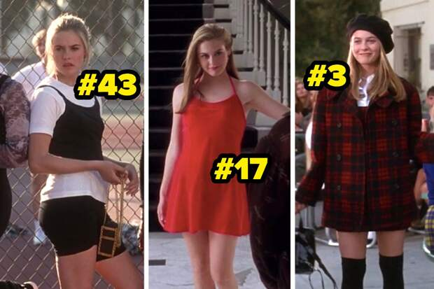 """Every Outfit Cher Wears In """"Clueless"""", Ranked From """"Full-On Monet"""" To """"You Know You're Gorgeous"""""""
