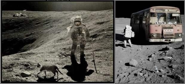 От Путина глоток правды! С Днём Космонавтики, друзья! Россия впереди планеты всей!