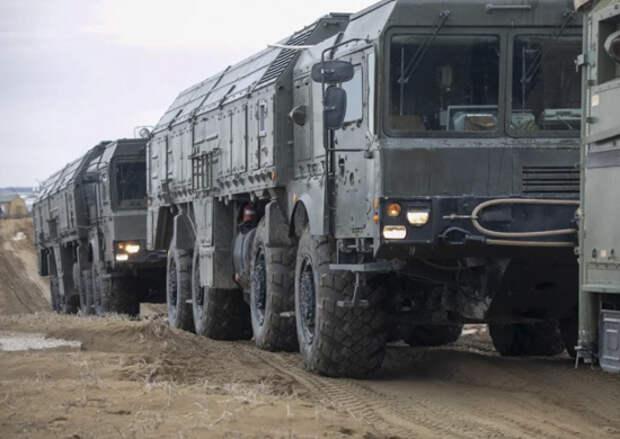 Расчеты ОТРК «Искандер-М» ЮВО уничтожили цели на двусторонних учениях в Чечне
