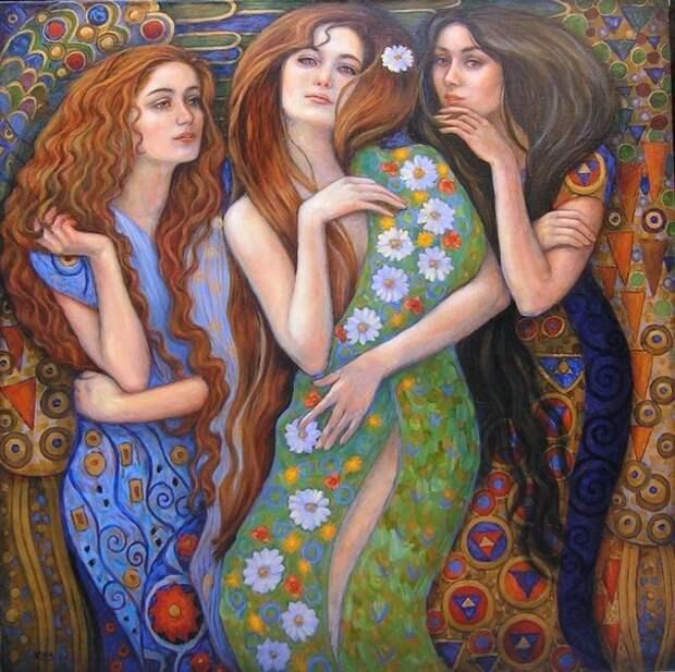 Притча про три сестры притча, сказка, юмор