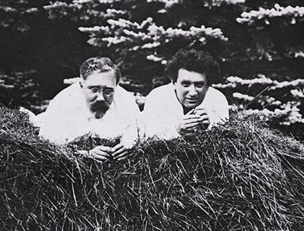 Лев Каменев и Григорий Зиновьев