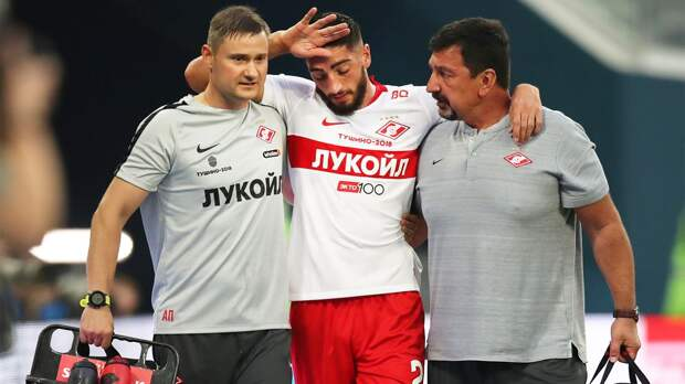 Защитник «Спартака» Жиго получил сотрясение мозга в матче с «Ростовом»