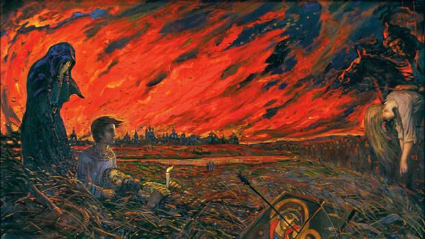 Как крымские татары сожгли Москву