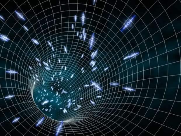 Математическая модель для машины времени