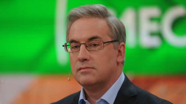 Телеведущий Норкин рассмешил студию НТВ шуткой про чипирование и «Спутник V»
