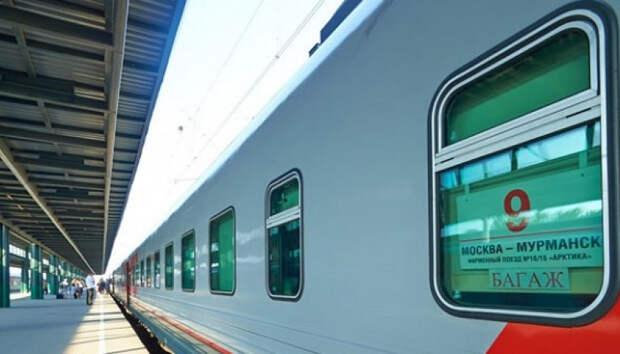 Поезд Мурманск-Москва задержался из-за аварии на переезде в Карелии