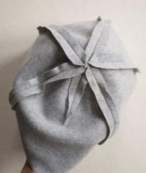 Выкройка фетровой шапочки с ушками (Diy)