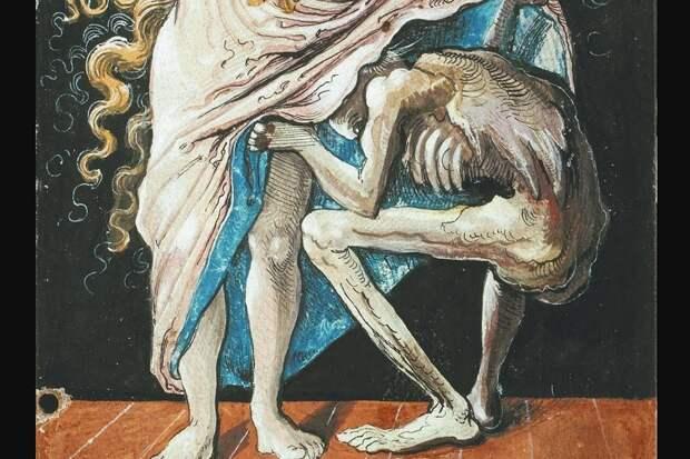 Жуткая эротика от художника Никлауса Мануэля