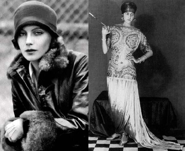 Европейская мода 1920-х годов. | Фото: mylitta.ru.