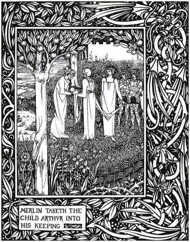 Артур, Мерлин и феи Бретонского цикла