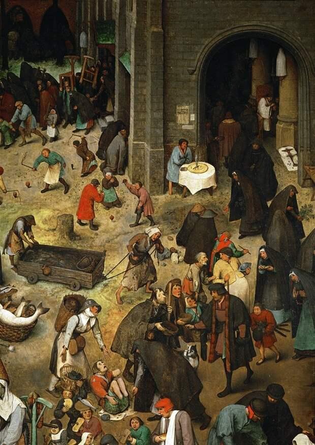 Средневековый колорит в гравюрах Питера Брейгеля Старшего.