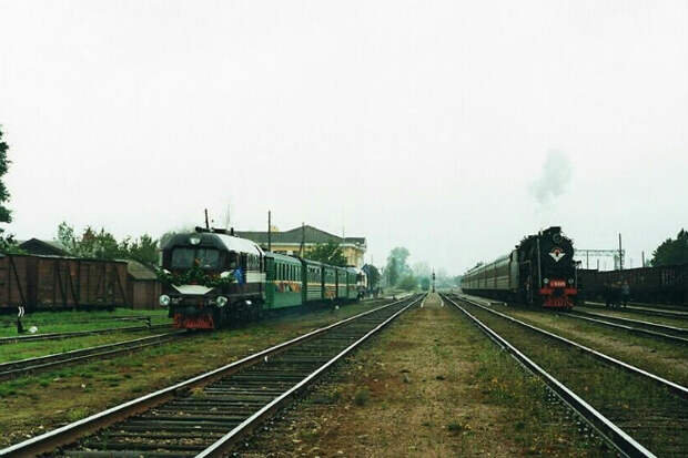 Почему в России железные дороги шире чем в Европе