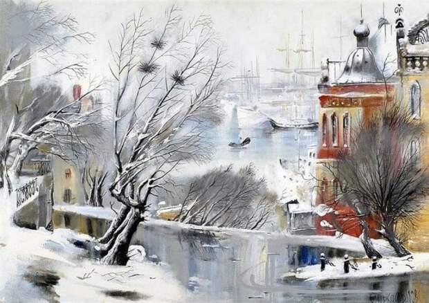 художник Сергей Черкасов картины – 21