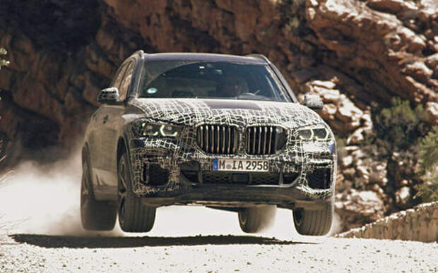 Новый BMW X5: первые фото и информация