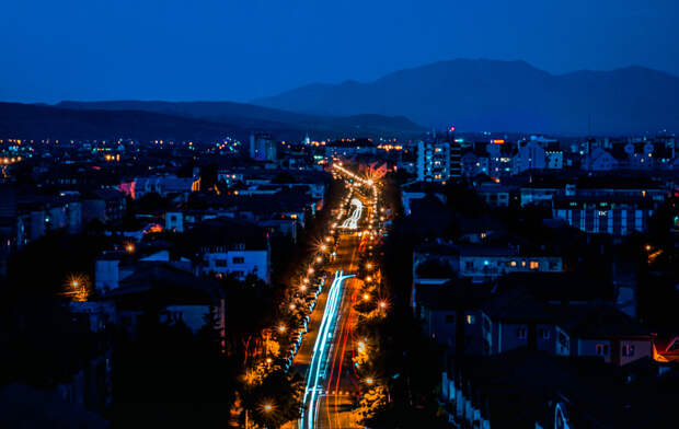 The nights in the city by Ramona  on 500px.com
