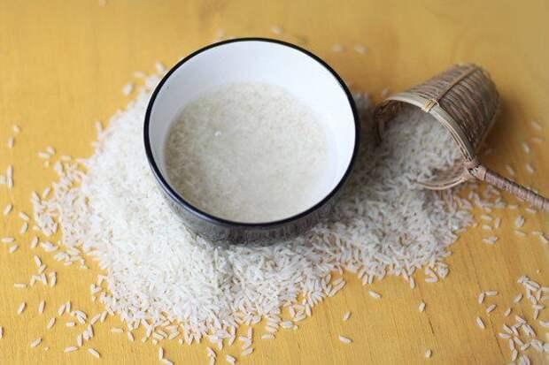 Польза и способы применения рисовой воды