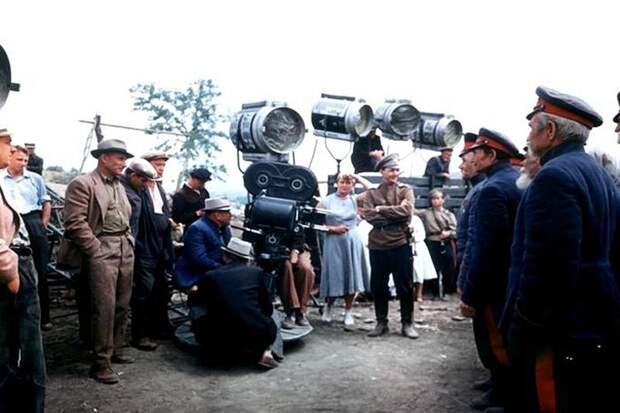 30 фотографий со съёмочных площадок советского кино
