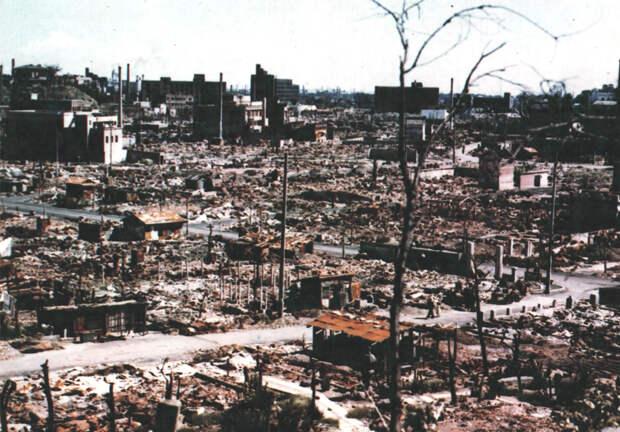 Устрашающие исторические снимки о Хиросиме