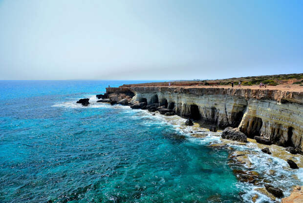 Cyprus Sea Caves
