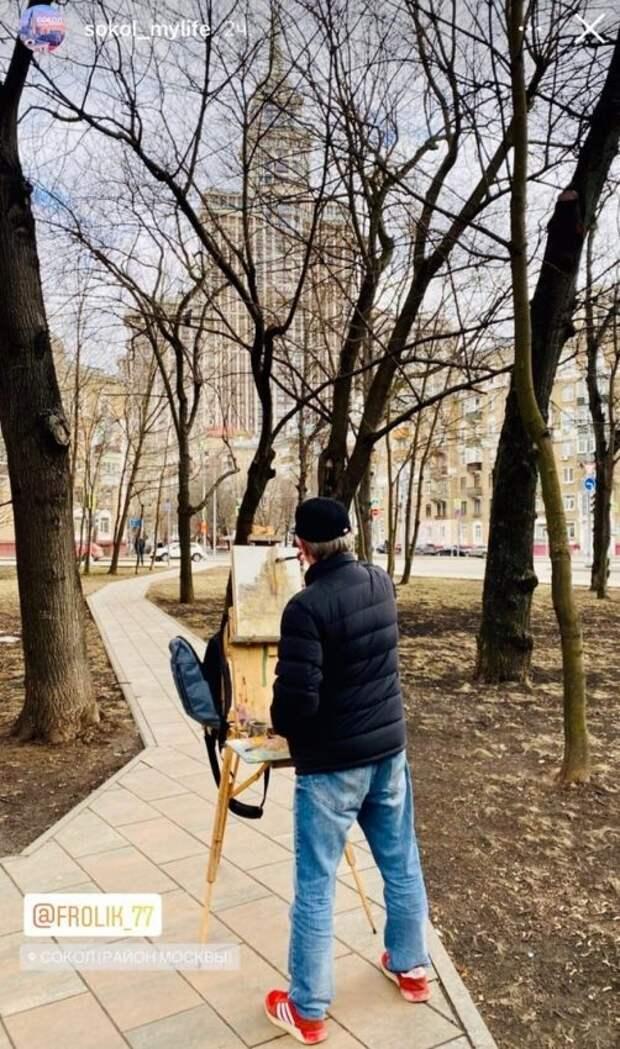 Фото дня: вдохновляющие художников окрестности Сокола