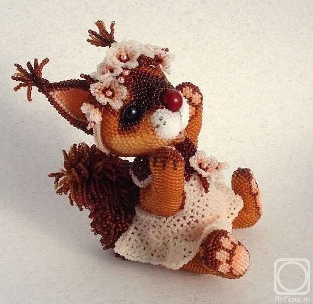 Невероятно позитивные авторские игрушки из бисера Волховской Ульяны