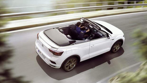 Volkswagen выпустил новый кабриолет. На базе кроссовера