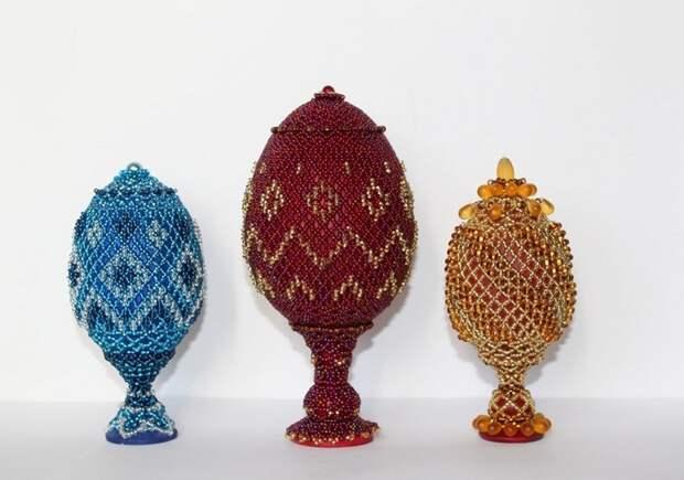 Интерьерные украшения в пасхальном стиле