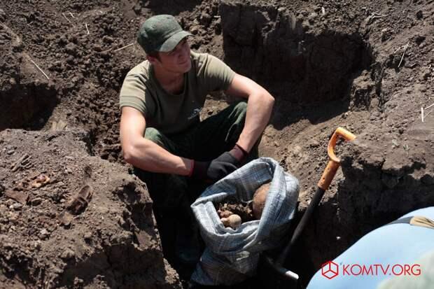 В Ленинском районе провели «Вахту памяти» по поиску неопознанных солдат ВОВ 3