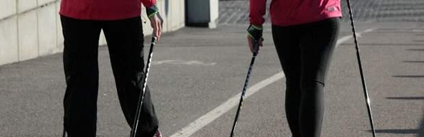 На бесплатные занятия скандинавской ходьбой приглашают карагандинцев