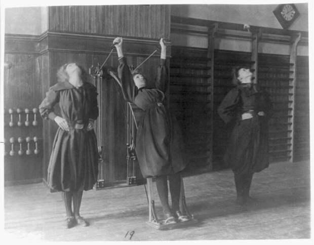 Фитнес в 19 веке. США. 1899 г. интересно, история, фото