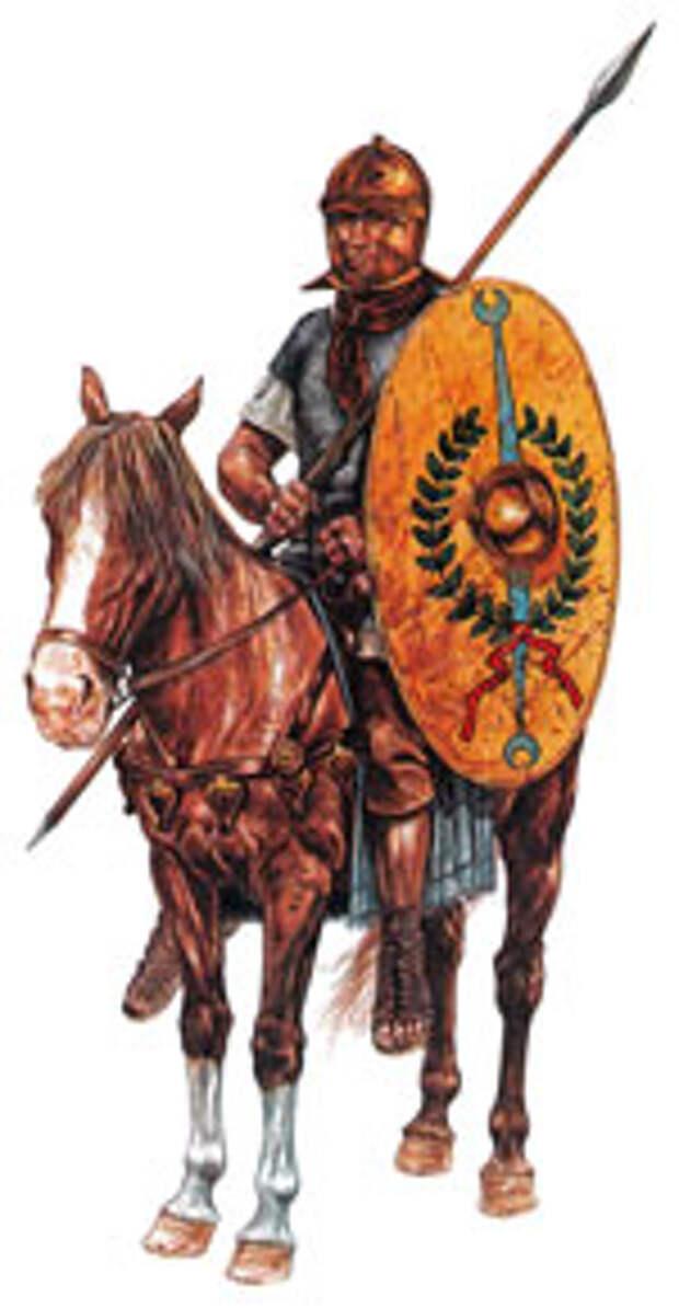 Кавалерист вспомогательных войск (ауксилий)