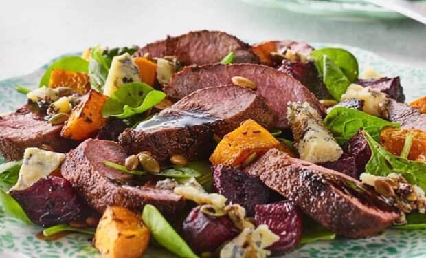 Мясные салаты: смешиваем закуску и горячее в одном блюде