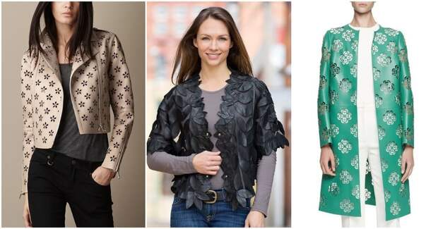 Элегантно и стильно: филигранная отделка одежды из кожи