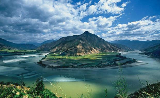 Река Янцзы, фотография